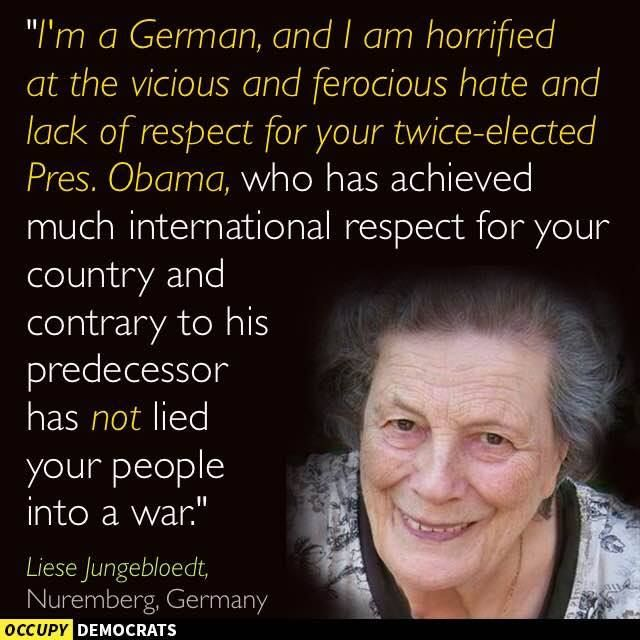Unfortunately, she's right. Pass it on.  Image by Occupy Democrats, LIKE our page for more! https://www.facebook.com/OccupyDemocrats/photos/a.347907068635687.81180.346937065399354/859978330761889/?type=1 https://www.facebook.com/ginger.lee.5243