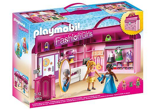 Playmobil 6862 - Briefcase Fashion Boutique - Box