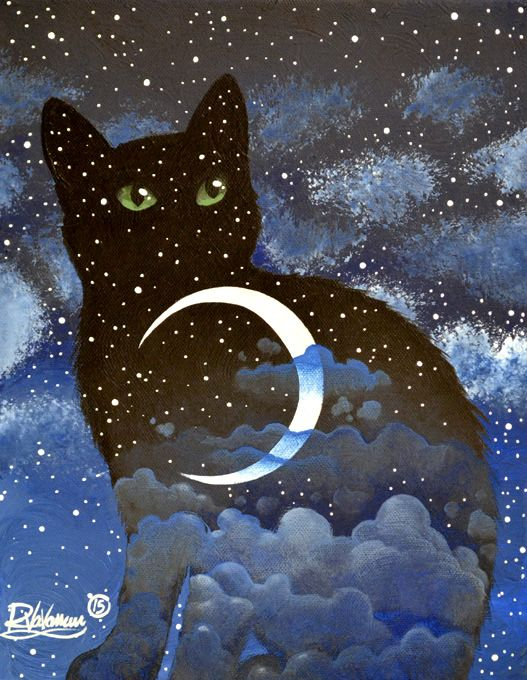 "Raphaël Vavasseur Art — ""Night in cat""..."