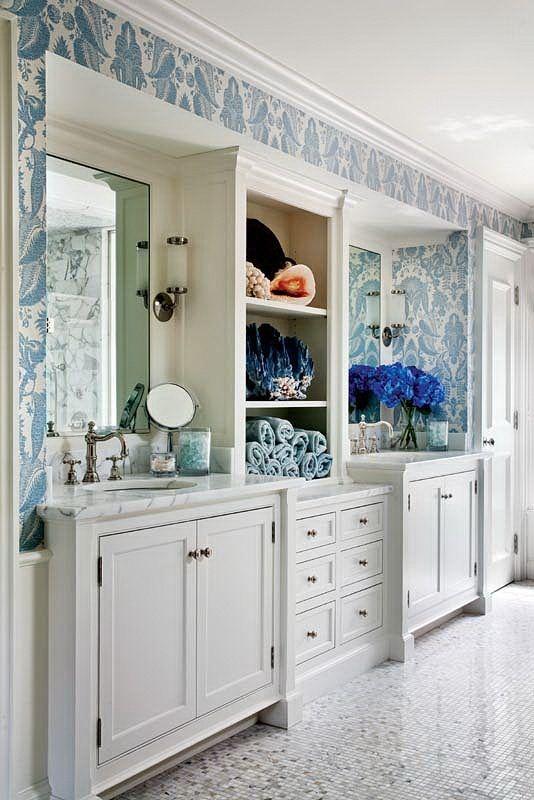 bathroom built-in