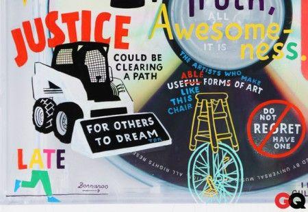 ESPO, James Franco & Mister Cartoon Customize the Yeezus Cover
