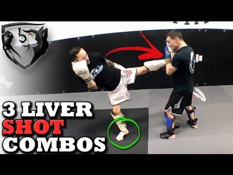 3 Muay Thai Combos to Set Up the Liver Shot - YouTube