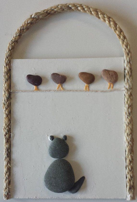Pebble Art Irish Pebble Art Unique Gift Idea by PirkkosCreations