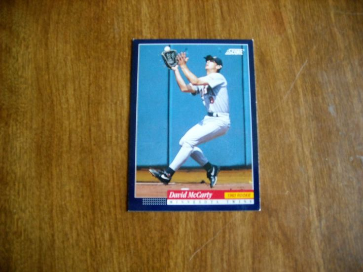David McCarty Minnesota Twins Left Field Card No. 290 (BC290) Score Baseball Card - for sale at Wenzel Thrifty Nickel ecrater store