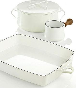 Dansk Cookware, Kobenstyle White Collection modern cookware and bakeware at Macy's