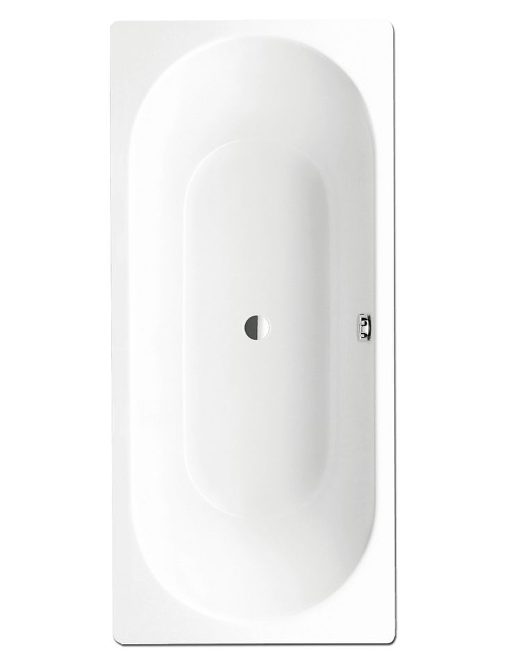 £469, Steel bath Acqva.co.uk Kaldewei Classic Duo 109 Double Ended Steel Bath 1800 x 750mm