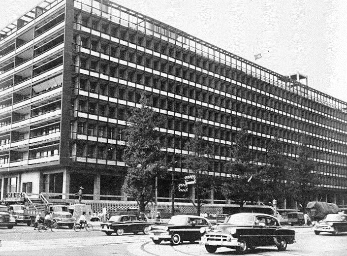 丹下健三 Kenzo Tange 旧東京都庁舎 1957