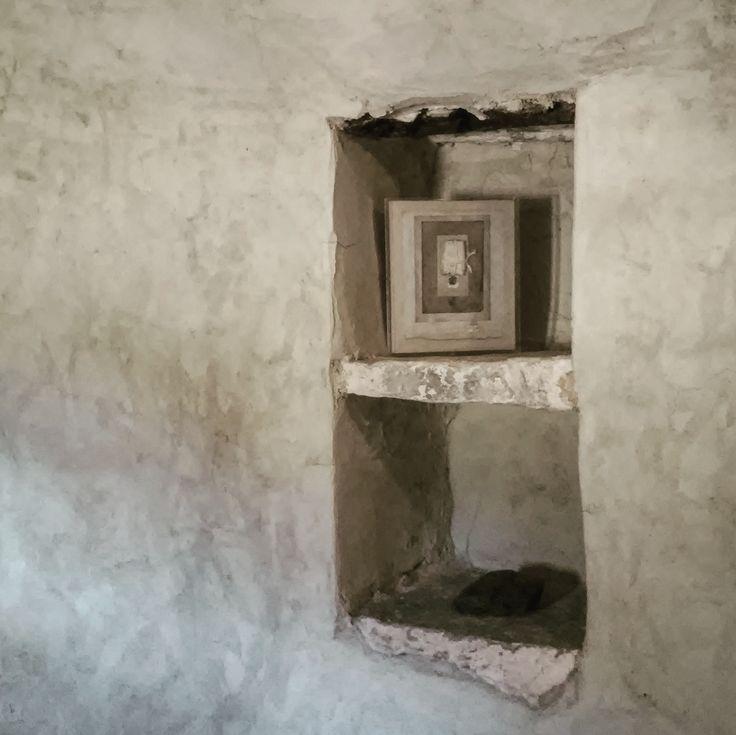 orini gonou, phantasma exhibition, bazaios tower, naxos, greece