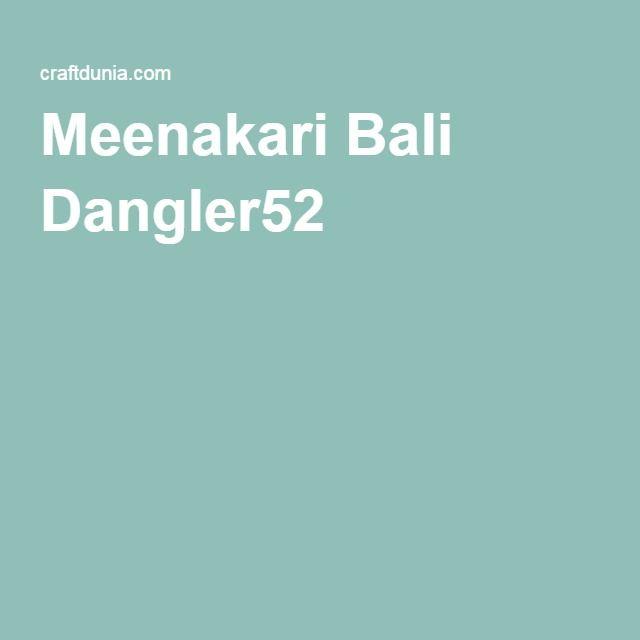 Meenakari Bali Dangler52