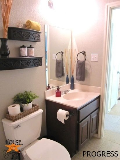 17 best images about bathrooms on pinterest traditional for Modern guest bathroom ideas