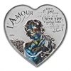 2013 Silver 1,000 CFA Francs Heart of Love Hologram Coins | APMEX.com