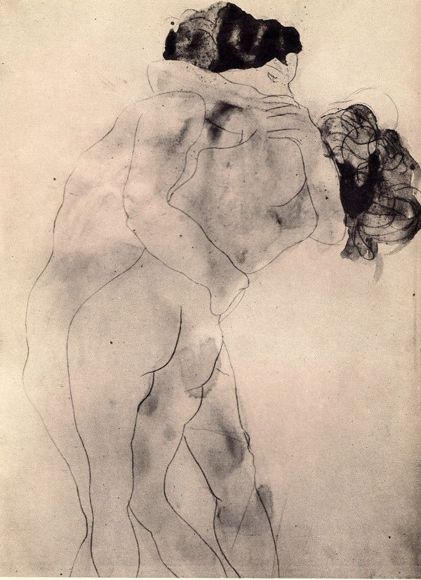 The Embrace by Auguste Rodin . from Poking Smot — Page 22