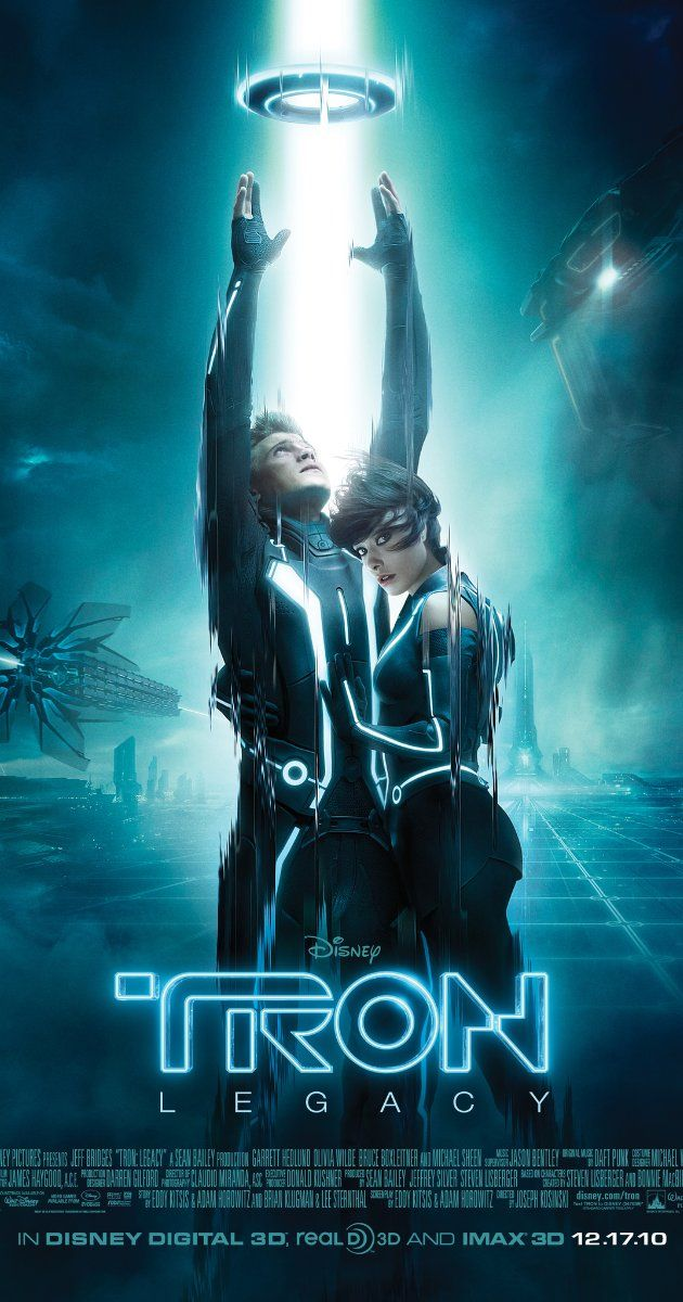 The idea of Virtual Reality is present in movies such as :TRON: Legacy (2010). Films such as this present to us the use of Virtual Reality in both a Dystopian state and Utopian state. This is known as Technological Determinism.