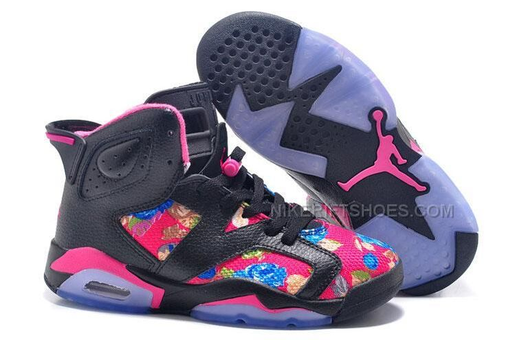 http://www.nikeriftshoes.com/2015-spring-latest-nike-air-jordan-6-flower-womens-shoes-black-pink-purple-sneakers-outlet.html 2015 SPRING LATEST NIKE AIR JORDAN 6 FLOWER WOMENS SHOES BLACK PINK PURPLE SNEAKERS OUTLET Only $99.00 , Free Shipping!