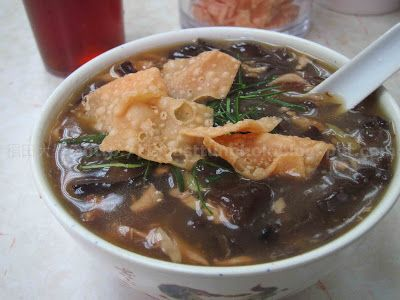 hearty Cantonese snake soups and glutinous rice with Chinese cured sausages @ 蛇王海