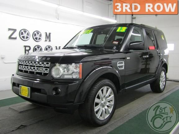 2013 Land Rover LR4 HSE for sale at First City Cars and Trucks in Rochester, NH!