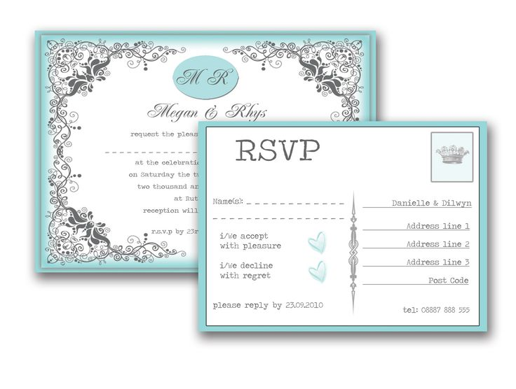 19 best wedding invitations images on pinterest bride the bride vintage wedding invitation and rsvp duck egg stopboris Choice Image