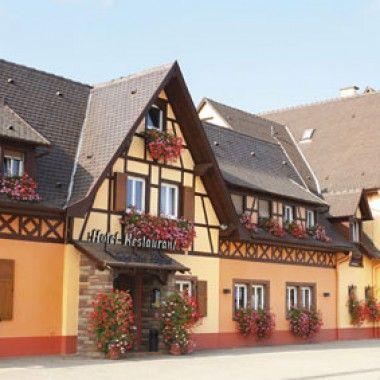 Hôtel Restaurant Au Cep de Vigne à Innenheim #tourismeobernai www.tourisme-obernai.fr
