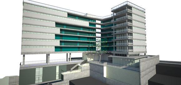 Intervenção de arte - edifício p.o.p madalena