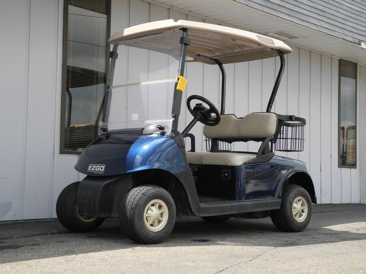 This late-model 2010 E-Z-GO RXV gas golf car will make a GREAT platform for a custom golf car project. It's already equipped with the Electric Blue body and folding windshield for just $3790. See more at: http://www.powerequipmentsolutions.com/products-a-services/online-store/used-golf-carts/e-z-go-golf-carts/e-z-go-gas-golf-carts/828-2010-e-z-go-rxv-gas-golf-cart-electric-blue.html  #EZGO #RXV #golfcar #blue #pes #vandalia #gas
