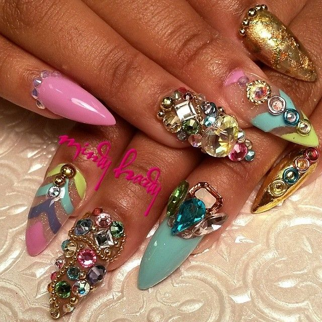 53 best nails by mcdonut images on pinterest entertainment fun mindy hardy hotnailartpro mindyhardy websta prinsesfo Choice Image