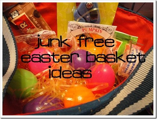 27 best natural easter ideas images on pinterest real food healthy easter basket ideas with no junk negle Image collections