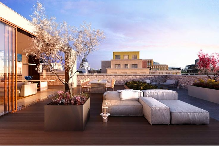 Barts Square Project, rendered by Corona render