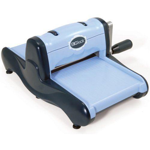 Sizzix Big Kick Machine, Perwinkle by Sizzix, http://www.amazon.com/dp/B005P1RPZ2/ref=cm_sw_r_pi_dp_Ybl0rb0WP90X5