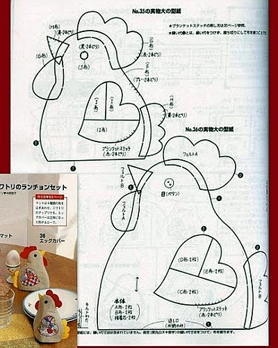 cubre el gallo huevo - don't understand the language but the diagram may be useful.
