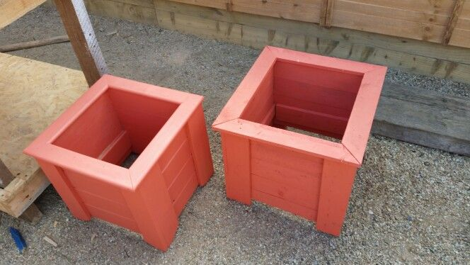 New small planters available from the shed check us on www.facebook.com/D12mensshed for details