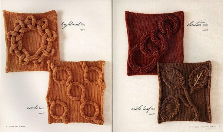 arts and craft books: knitting block by block | make handmade, crochet, craft