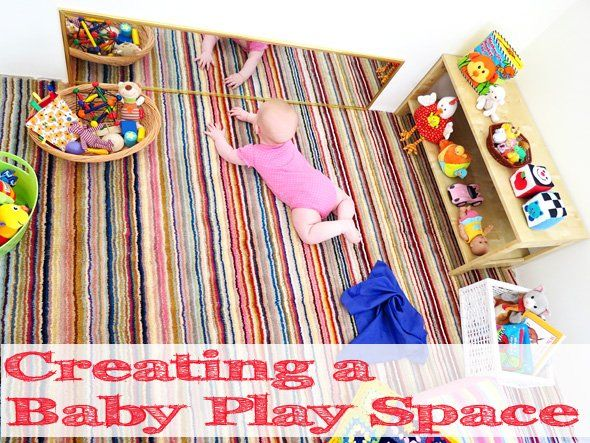 Creating a Baby Play Space   Childhood101