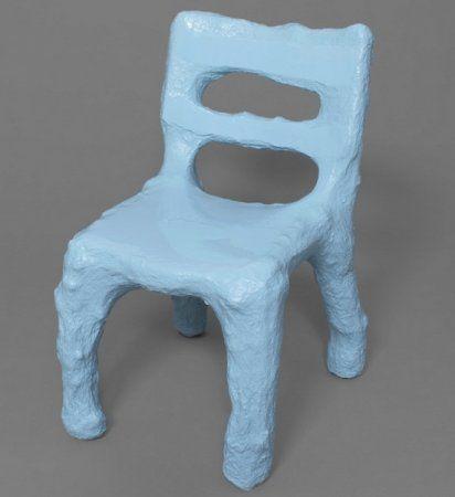 Мебель из папье маше: идеи лепки от Philipp Aduatz