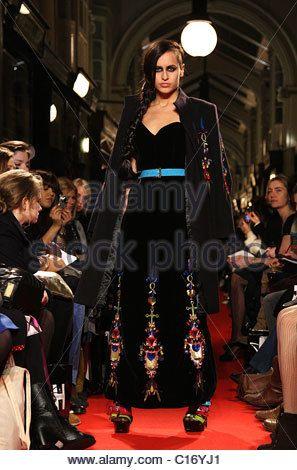 Alice Dellal London Fashion Week Autumn/Winter 2009 - PPQ- catwalk London, England - 22.02.09 - Stock Photo