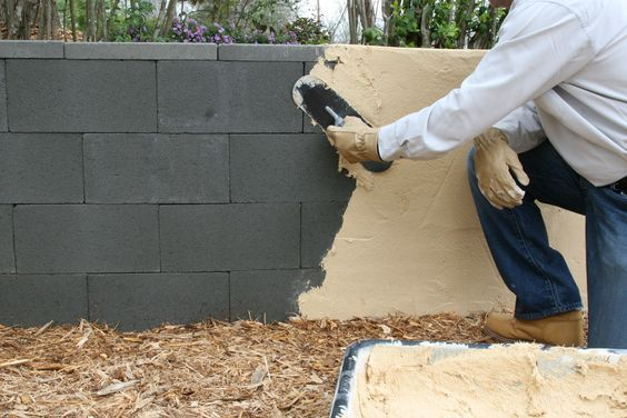 37 Best Cinder Block Wall Cover Images On Pinterest