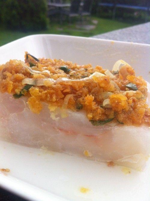 Oppskrift på glutenfri fransk fiskegrateng fra vibekesliv.no #fisk #torsk