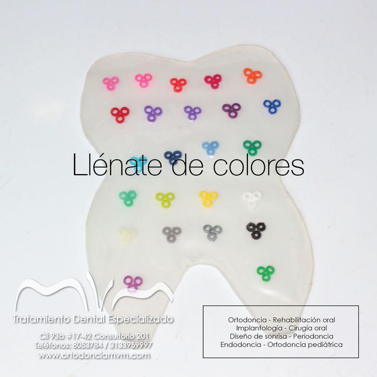 Hoy llénate de colores ❤️#Miercoles #FelizMiercoles www.ortodonciamvm.com Consultas: 8053784 - 6363236 Móvil 313 395 99 97 WhatsApp 321 4595296 #OdontologiaBogota #Ortodoncia #Odontologia #SaludOral #ClinicaOdontologica #Belleza #Braquets #Blanqueamiento #DiseñoDeSonrisa #Martes #Sonrie #Orthodontics #Braces #DentalCare #OralHealth #DentalHealth #Health #OralHealthColombia #F4f  #Follow4follow #l4l #Like4Like