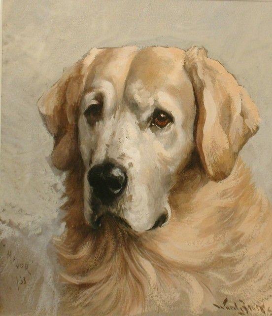 Собаки на картинах на аукционе Bonhams в Нью-Йорке 15 февраля 2012 - ART_Tourism