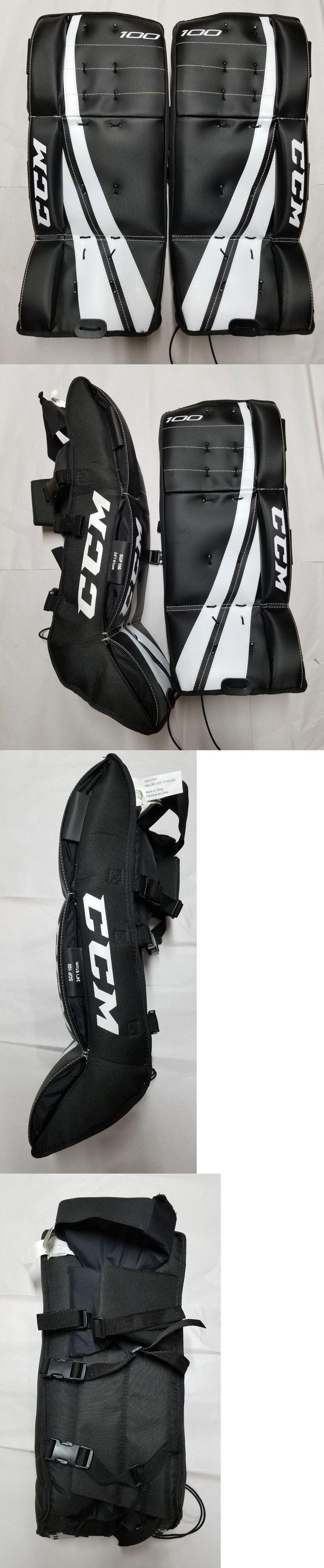 Gloves and Blockers 79763: Ccm 100 Street Hockey Goalie Pads Junior Regular 20 -> BUY IT NOW ONLY: $64.99 on eBay!