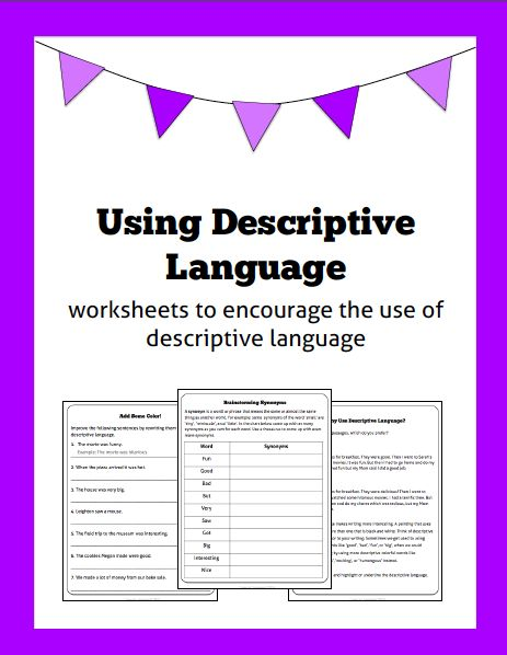 Words Used In Descriptive Essays