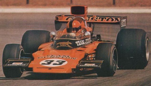 1976 Kyalami Gunston Team Lotus 72A Eddie Keizan