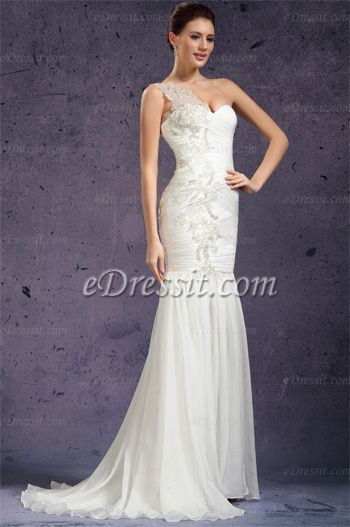 eDressit Nuovo bianco stupendo monospalla abito da cerimonia / matrimonio  http://www.edressit.com/edressit-new-one-shoulder-fabulous-evening-dress-wedding-gown-01131107-_p2832.html