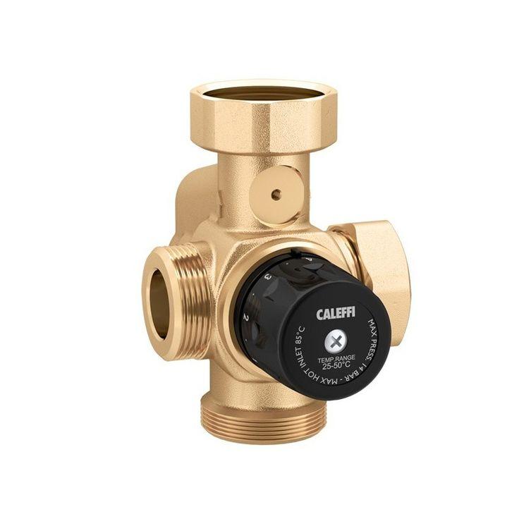 La valvola miscelatrice Caleffi consente di regolare gli impianti di riscaldamento attraverso la miscelazione dell'acqua. Uno strumento molto utile che RubinetteriaShop mette in vendita online con uno sconto del 35%