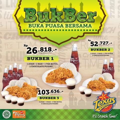 Texas Chicken: Promo Buka Puasa Bersama @TexasIndonesia