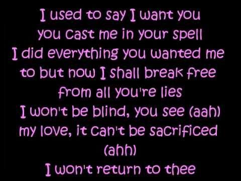 Cinderella lyrics - Britney Spears reminds me of anne boleyn