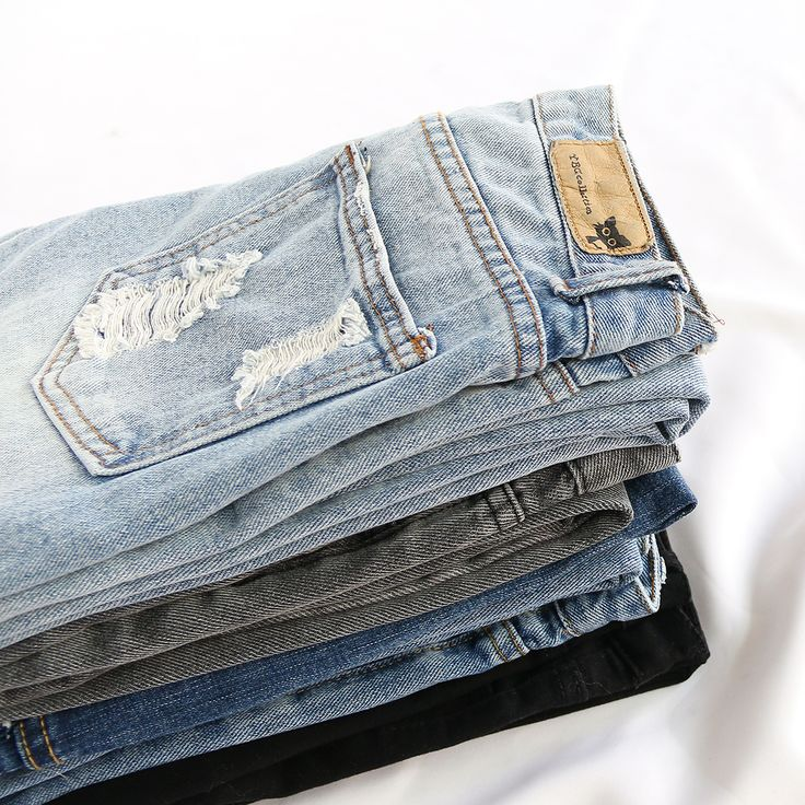 Fashion denim pant collect for women. Start from $6.89 at shein.com.