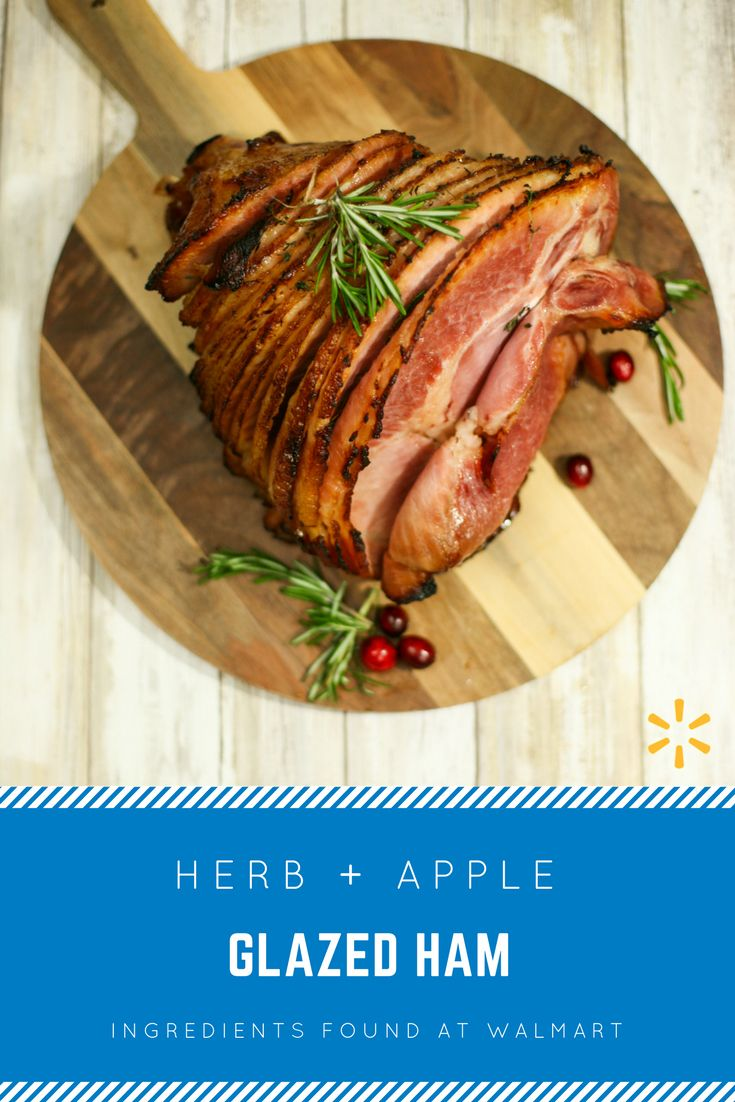 Looking for a perfect main course for your holiday meal? Check out this recipe for an easy herb & apple glazed ham. This recipe only requires 4 ingredients - find all of them today at your local Walmart.