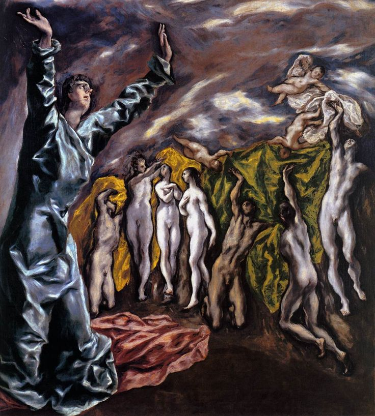 El Greco Famous Paintings | Masters of Art: El Greco (1541 1614) El Greco The Opening of the Fifth ...