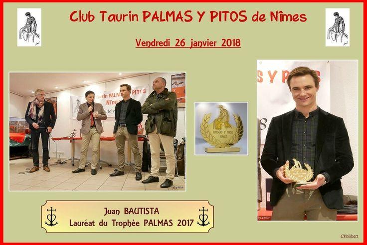 Remise des PALMAS 2017 - JUAN BAUTISTA