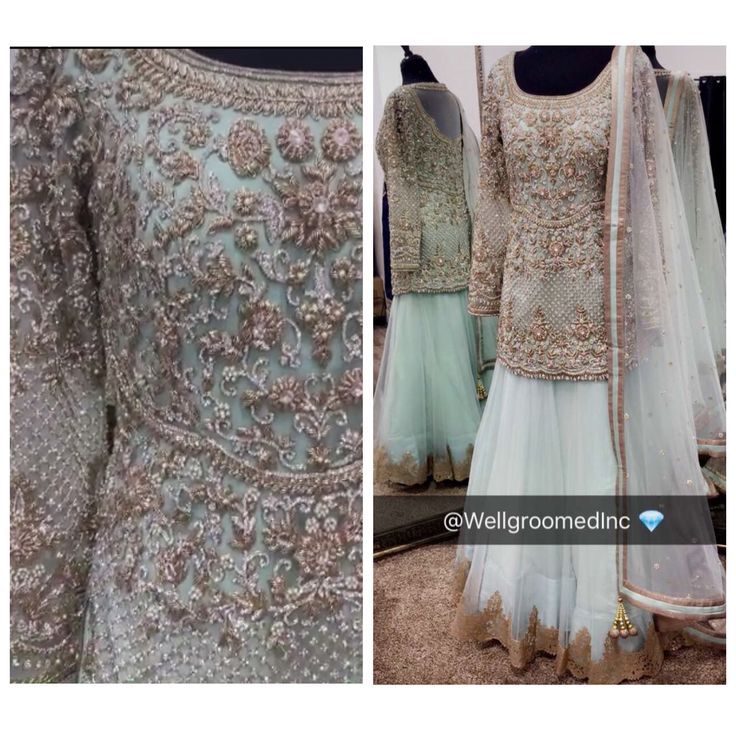 Wellgroomed has done it yet again! These details, embroidery and colors are impeccable! Dream outfit!
